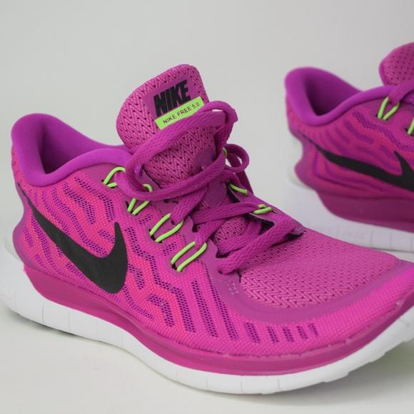 Nike Womens Free 5 Fuchsia Flash Bla